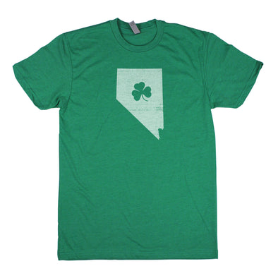 Shamrock Men's Unisex T-Shirt - Nevada