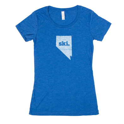 ski. Women's T-Shirt - Nevada