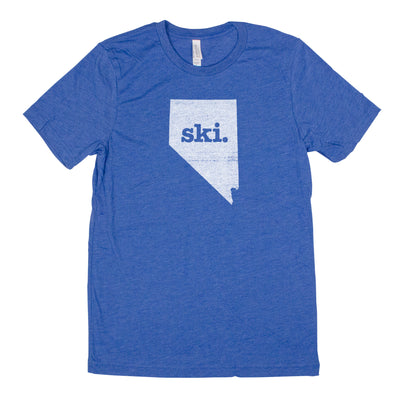 ski. Men's Unisex T-Shirt - Nevada