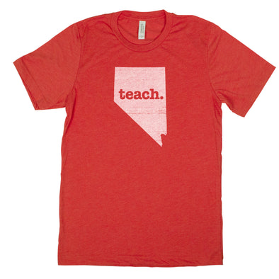 teach. Men's Unisex T-Shirt - Nevada