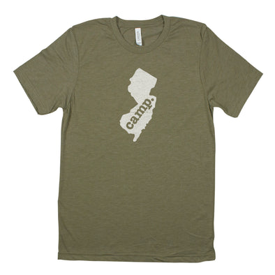 camp. Men's Unisex T-Shirt - New Jersey