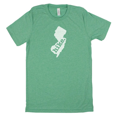 hike. Men's Unisex T-Shirt - New Jersey