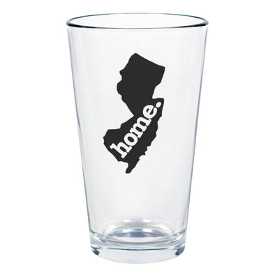 home. Pint Glass - New Jersey