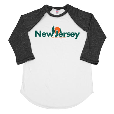 home. Horizon Men's Unisex Raglan - New Jersey