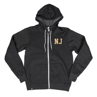 Shorthand Men's Unisex Zip Hoodie - New Jersey