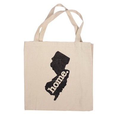 Canvas Tote Bag - New Jersey