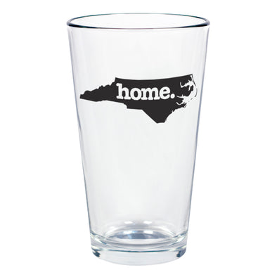 home. Pint Glass - North Carolina