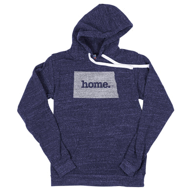 home. Men's Unisex Hoodie - North Dakota