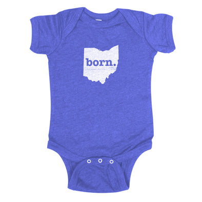 born. Baby Bodysuit - Ohio