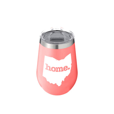 Bevanda home. Drinkware 12oz. Wine Tumbler - Ohio