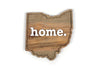 home. Wooden Plaques - Ohio