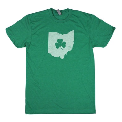 Shamrock Men's Unisex T-Shirt - Ohio
