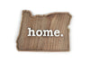 home. Wooden Plaques - Oregon