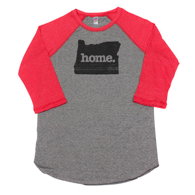 home. Men's Unisex Raglan - Oregon