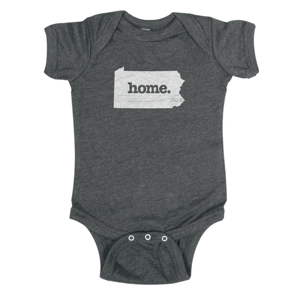 home. Baby Bodysuit - Pennsylvania