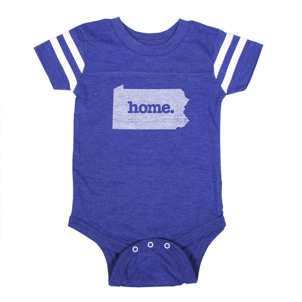 home. Football Baby Bodysuit - Pennsylvania