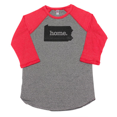 home. Men's Unisex Raglan - Pennsylvania