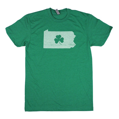 Shamrock Men's Unisex T-Shirt - Pennsylvania