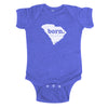 born. Baby Bodysuit - South Carolina