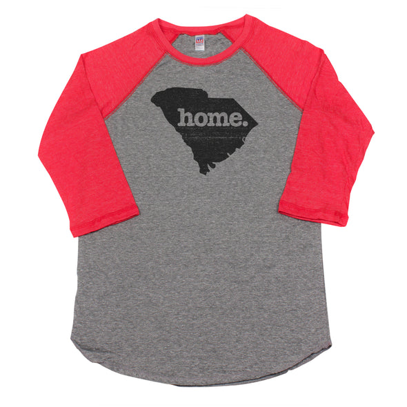 home. Men's Unisex Raglan - South Carolina