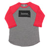 home. Men's Unisex Raglan - South Dakota