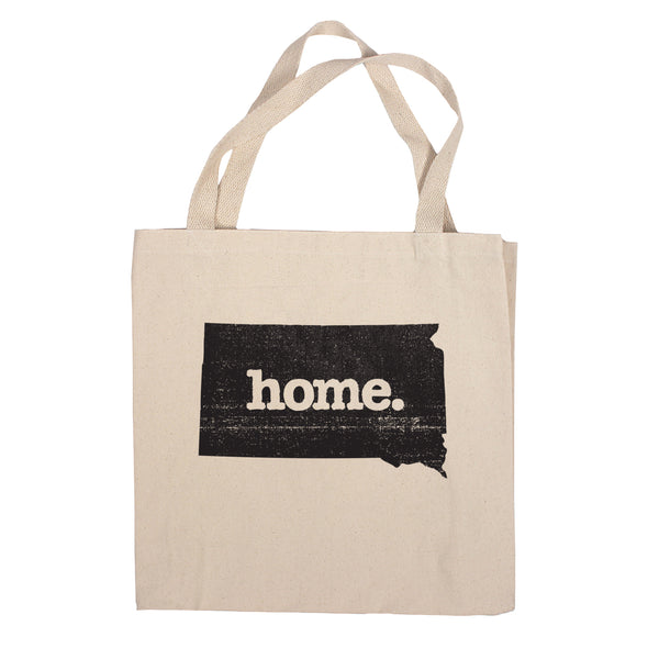 Canvas Tote Bag - South Dakota