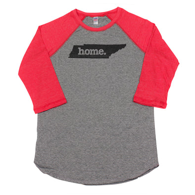 home. Men's Unisex Raglan - Tennessee