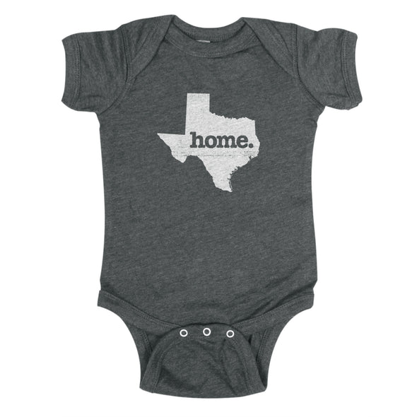 home. Baby Bodysuit - Texas