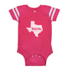 born. Football Baby Bodysuit - Texas