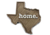 home. Wooden Plaques - Texas