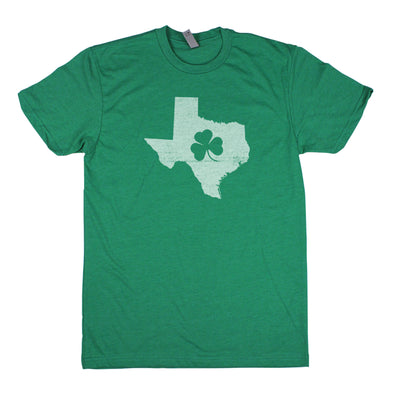 Shamrock Men's Unisex T-Shirt - Texas