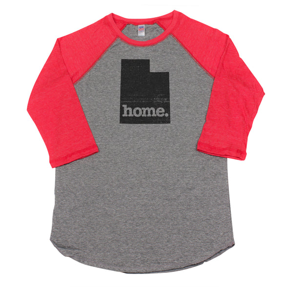home. Men's Unisex Raglan - Utah