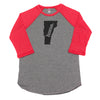 home. Men's Unisex Raglan - Vermont