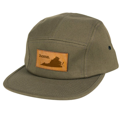 home. Leather Patch Hat - Virginia