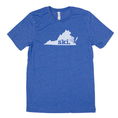 ski. Men's Unisex T-Shirt - Virginia