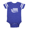 home. Football Baby Bodysuit - Washington