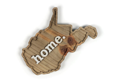 home. Wooden Plaques - West Virginia