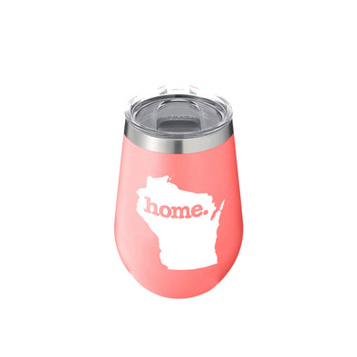 Bevanda home. Drinkware 12oz. Wine Tumbler - Wisconsin