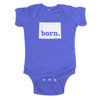 born. Baby Bodysuit - Wyoming