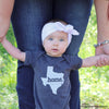 home. Baby Bodysuit - Minnesota