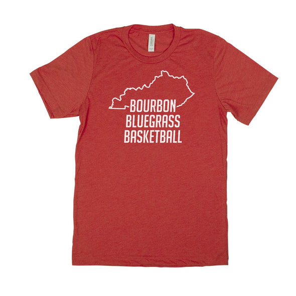 Bourbon Bluegrass and Basketball Kentucky T-Shirt Men's Unisex T-Shirt
