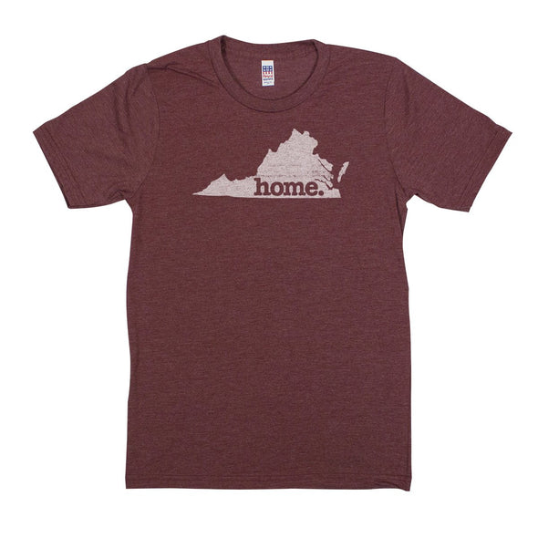 home. Men's Unisex T-Shirt - West Virginia