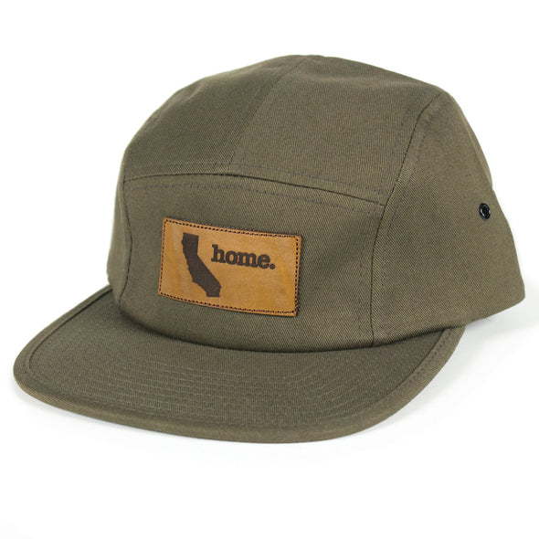 home. Leather Patch Hat - Oregon