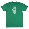Shamrock Men's Unisex T-Shirt - Connecticut