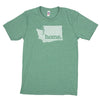 home. Men's Unisex T-Shirt - Washington DC