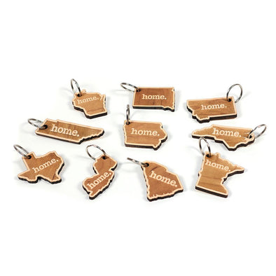 home. Wooden Key Chains - (20 pack) Squam Lake