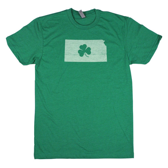 Shamrock Men's Unisex T-Shirt - North Dakota