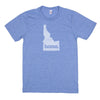 home. Men's Unisex T-Shirt - Idaho