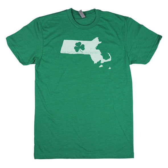 Shamrock Men's Unisex T-Shirt - New Hampshire