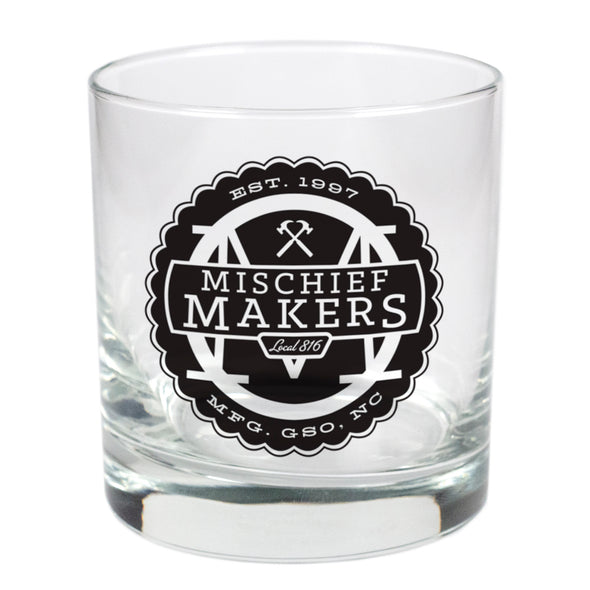 Mischief Makers Local 816  - 11 oz Stylized Rocks Glass